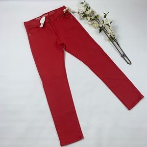 Gymboree boys red skinny jeans pants NWT